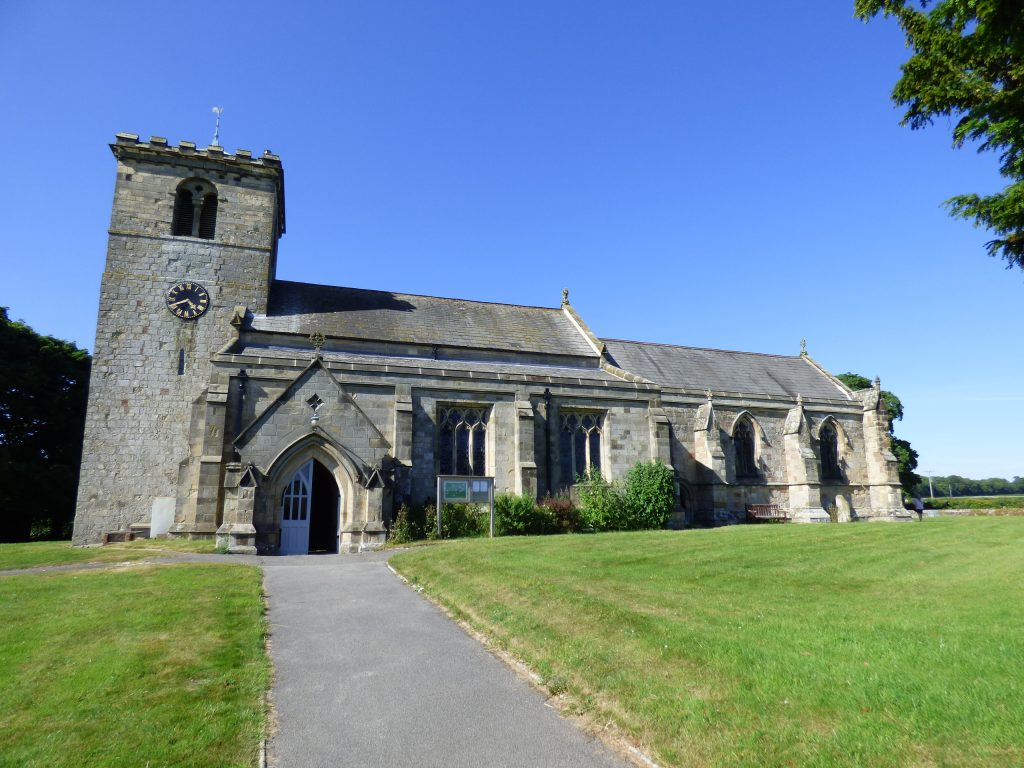 All Saints Church Rudston