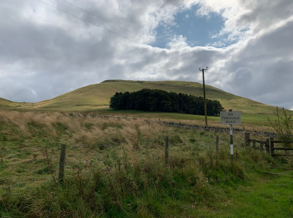 Woden Law Hill Fort