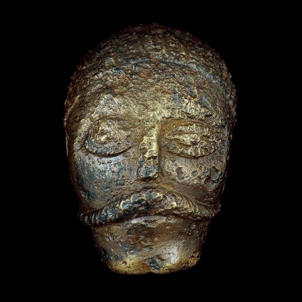 Celtic Head from Witham, 2nd c B.C. (British Museum)