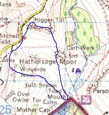 Carl Wark Peak District Derbyshire  Brigantes Nation